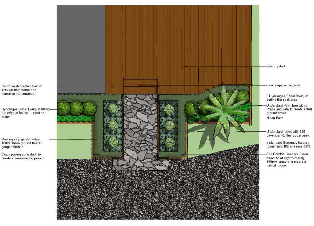 JDLA Landscaping Design Whanagrei